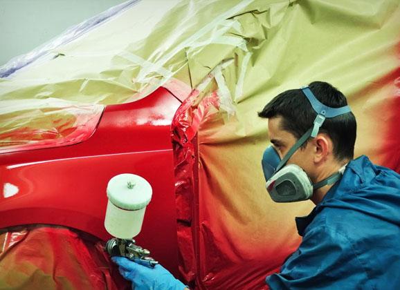 Body Repairing & Paint Job