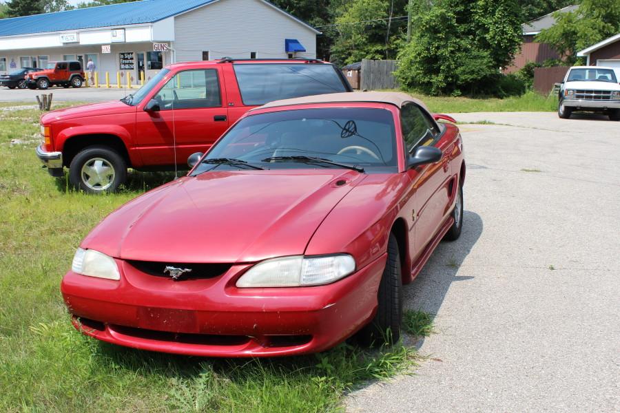 1996 Mustang Convertible Image